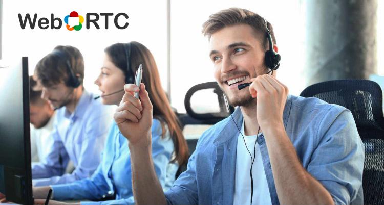 Contact Center atención de llamadas con WebRTC